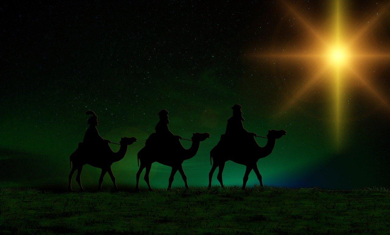 Bild: Silhouette heilige Drei Könige